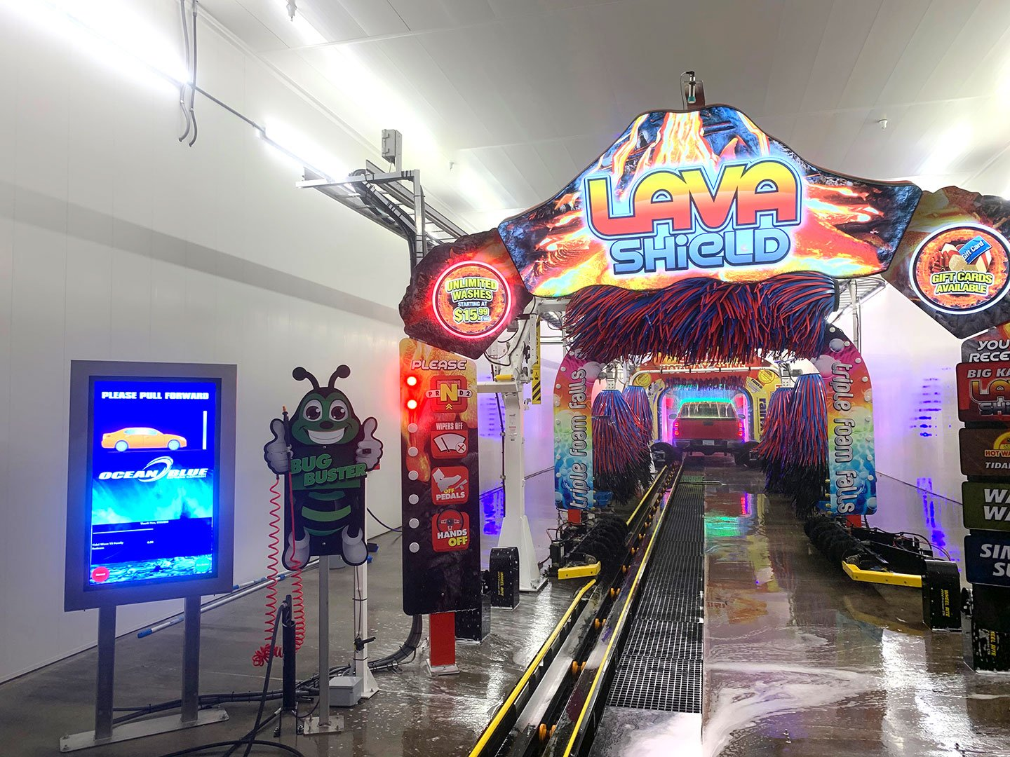 State of the art Car Wash